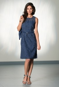 Bianca Navy DRess