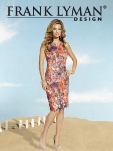 F L Coral dress