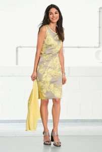 Bianca yellow dress