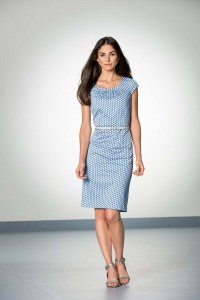 Bianca pale blue dress